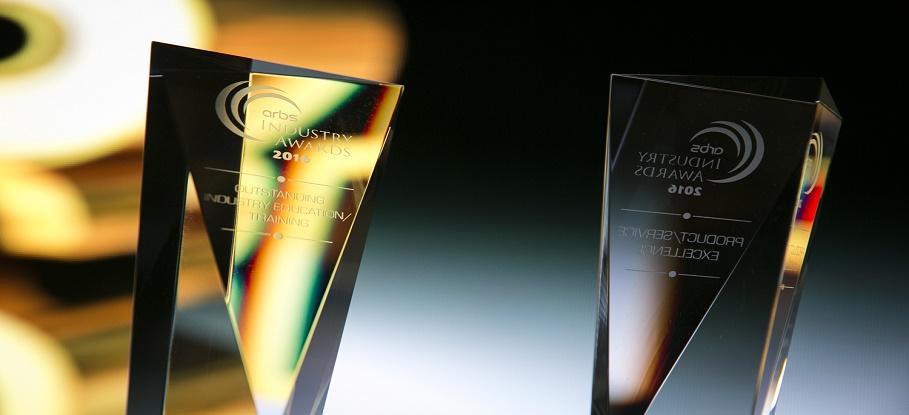 ARBS award slider