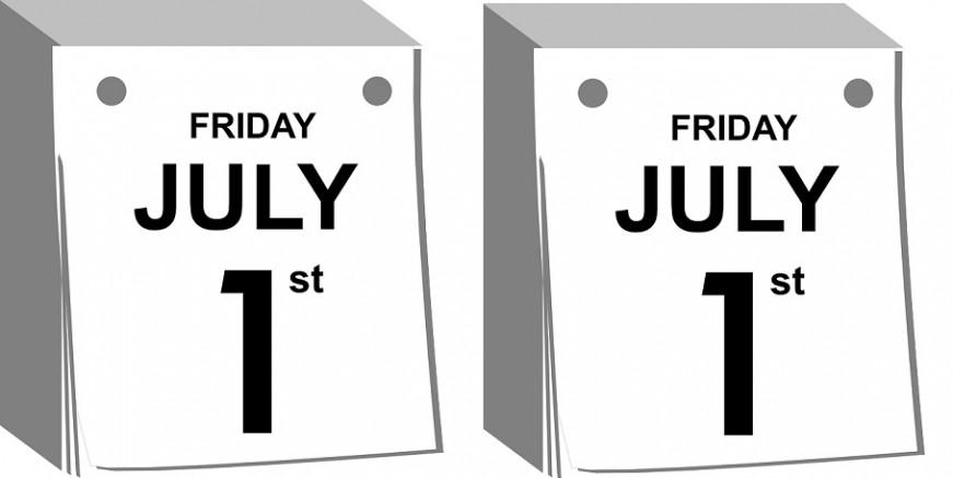 July 1 slider
