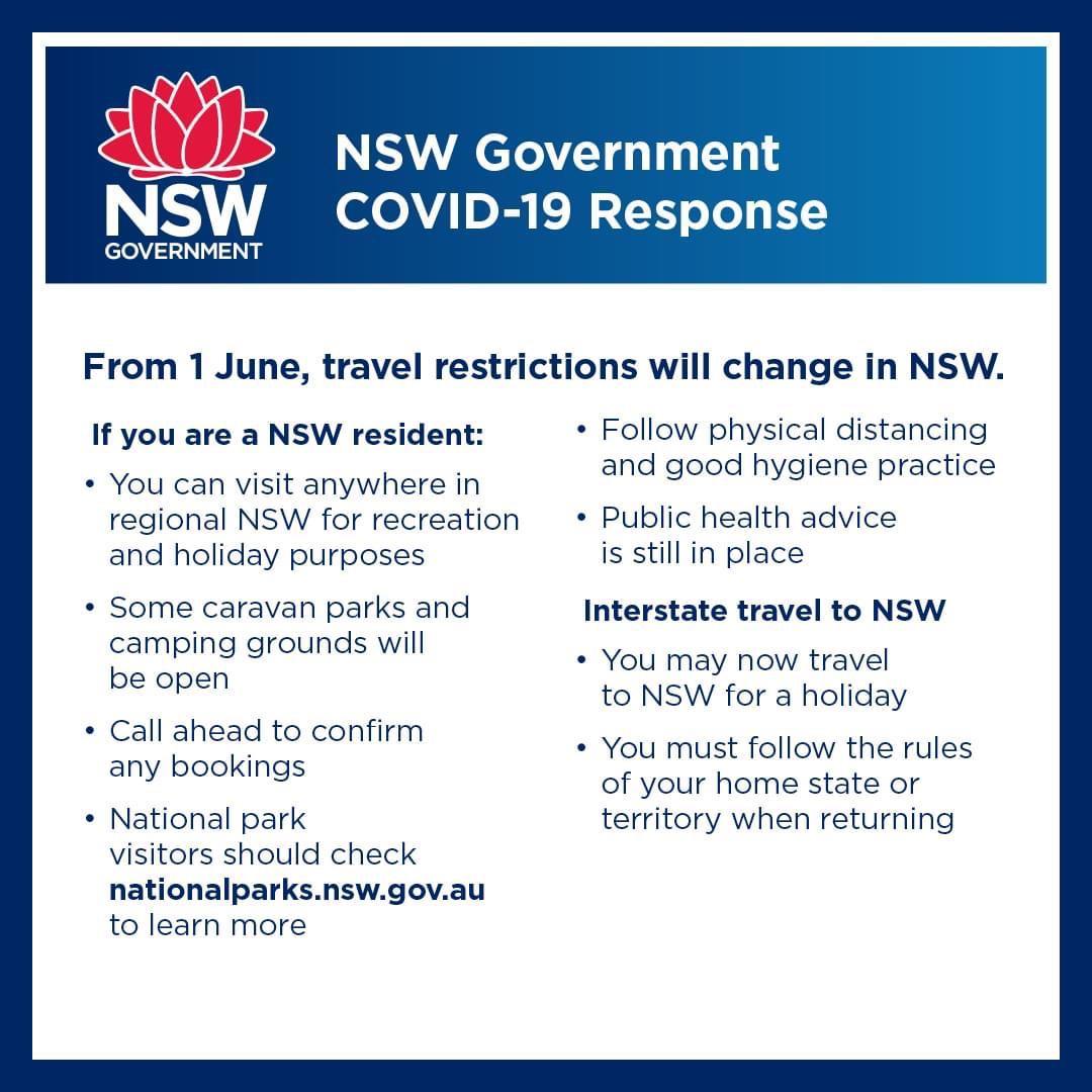NSW COVID-19 Travel Restrictions Update - RACCA Australia ...
